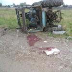 Скончался 17-летний пассажир трактора, опрокинувшегося намедни в деревне Поспелково под Серовом