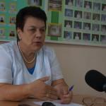 О перспективах серовского здравоохранения рассказала главный врач Тамара Агапочкина на пресс-конференции