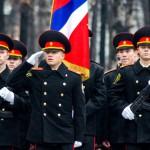 Новобранцев серовской Кадетской школы-интерната посвятили в кадеты