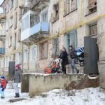 В Серове в четырехэтажном общежитии образовался провал в лестнице