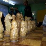 """Шахматный турнир """"Белая ладья"""" уже не первый год проходит в Серове, в этом году в нем приняли участие 8 команд, в сравнении с прошлым годом, на две команды меньше. Фото: Константин Бобылев, газета """"Глобус""""."""