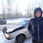 В Серове Toyota столкнулась с инкассаторским автомобилем