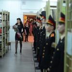 100-летний юбилей главная библиотека Серова встречает при полном параде. Фото: Антон Муханов.