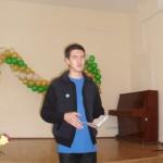 На поэтическом мини-марафоне честь города Серова защищал один единственный поэт - Дмитрий Бобылев. Фото6 из личного архива Дмитрия Бобылева.