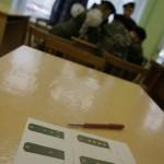 Пока командир выполнял свою часть задачи, остальные члены команды заполняли тест на знание воинских звании Вооруженных Сил РФ и знание российских полководцев