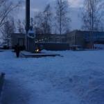 """Коммунисты хотят провести митинг у Вечного огня в Серове. Фото: Екатерина Баязитова, """"Глобус"""""""