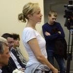 Приговор Аксане Пановой: два года условно, 300 тысяч штрафа и запрет на журналистику. На два года