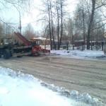 Жители серовских поселков Филькино и Новая Кола жалуются на некачественную уборку снега