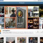 """""""Глобус"""" завел страницу в """"Инстаграм"""". Скриншот сайта instagram.com"""