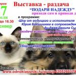 Выставка-раздача бездомных животных в Серове состоится 27 апреля