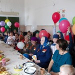 В поселках Филькино и Новая Кола поздравили ветеранов