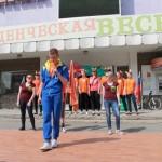 """Фестиваль""""Студенческая весна"""" всегда пользовался популярностью среди активной молодежи города. Фото: Константин Бобылев, """"Глобус"""","""
