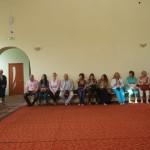 Внутри мечети.