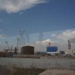 Строительство серовской ГРЭС.