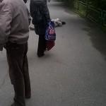 В Серове на улице скончался мужчина