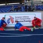 Серовчанин Павел Тренихин в составе сборной России выиграл эстафету 4х400 метров на командном чемпионате Европы