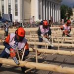 Лесорубы из Серова отец и сын Красиковы показали отличные результаты на чемпионате России