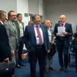 Аркадий Чернецкий, бывший мэр Екатеринбурга, ныне сенатор от Свердловской области,  участвовал в конференции по инновациям в городской ссреде.