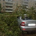 В Серовском округе возможны ливни и порывистый ветер
