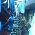 В ДТП пострадали пассажиры рейсового автобуса, ехавшего на север области