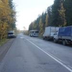 В ДТП по автодороге в серовский поселок Энергетиков пострадал грузовик