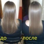 Кератиновое выпрямление ивосстановление волос <span>Реклама</span>