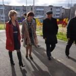 Заведующая Ольга Кудленко провела экскурсию по территории детского сада