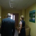 Ольга Кудленко провела комиссии экскурсию по зданию