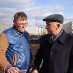 Якимов разговаривает с Галаватским, представителем подрядчика