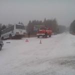 В ту субботу в Серове выпал снег