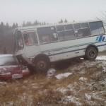 В результате дорожно-транспортного происшествия травмы получил сам виновник происшествия