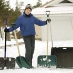 Вместо лыжной прогулки активисты зовут серовчан убирать снег в Больничном городке. Фото: www.k-rauta.fi