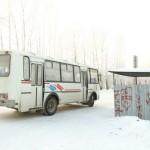 Оттепель не мешает пассажирским перевозкам в Серове