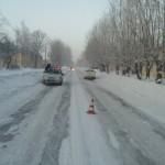 На Проспекте Серова сбили пешехода. Все фото: ГИБДД Серова.