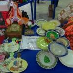 Была организована ярмарка-продажа поделок и сувениров.