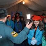 """очень понравилась детям теплая палатка. Фото: Константин Бобылев, """"Глобус""""."""