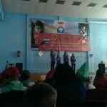 Выступление участников команды школы № 15. Фото: Никита Денисов, школа № 15.