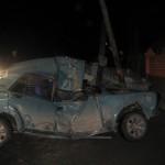 Глядя на то, что осталось от машины, трудно представить, что кто-то мог выжить. Фото: полиция Серова.
