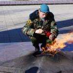 В Серове Вечный огонь передан временно на хранение в кадетский корпус – мемориал будут ремонтировать
