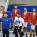 третий с права Волошин Дима(в красной форме с права, он первый) Рядом с ним его отец(второй с права) Волошин Вячеслав Владимирович