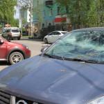 """Последствия падения березы. Фото: Константин Бобылев, """"Глобус""""."""