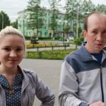 """Анна Иглашева перед экзаменом волнуется но в своих силах уверена. Фото: Константин Бобылев, """"Глобус""""."""