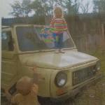 В Серове угоняли ЛУАЗ, снятый с учета. Сергей Воскобойников купил машину, чтобы сделать на ее основе вездеход. Фото предоставлено ГИБДД Серова.
