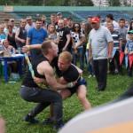 Борьба на поясах собрала больше всего зрителей.