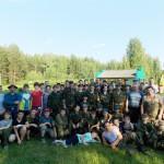 Серовские ветераны локальных войн встретились в Лобве с участниками сборов «Витязь»
