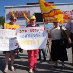 В Серове прошел пикет против законопроекта по внесению изменений в избирательный кодекс