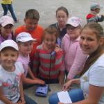 Инструктор ВДПО провела в детских оздоровительных лагерях Серова противопожарную эстафету. Все фото: Серовский участок ВДПО.