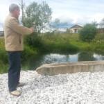 В серовском поселке Ключевой обустроили два противопожарных водоема