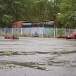 На этой пустоши раньше располагались фигуры скейт-парка. Фото: Алексей Пасынков, «Глобус»