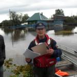 Инспектор ГИМС пробыл в Лобве два дня. Фото: предоставлено Петром Ивановым.